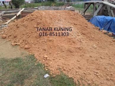 Tanah timbus black topsoil garden stone sand