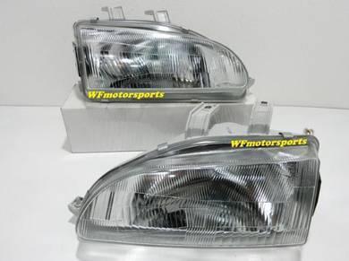 Honda Civic EG SR4 EG9 Head Lamp Light 92_95 NEW