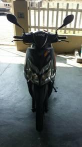 Nombor & motor skuter Sym