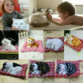 Sleeping cats with sound kids toy