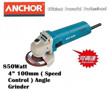 ANCHOR 4� 100mm Angle Grinder 850W