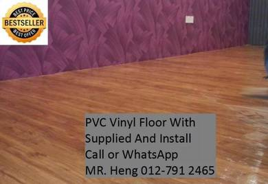 NEW Made Vinyl Floor with Install ujkl54