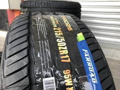 Tayar baru 215 50 17 Farroad PRD26 2020 New Tyre