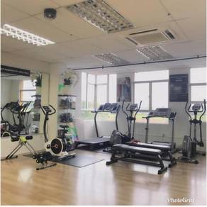 Fitness centre to let go / Gym untuk dijual