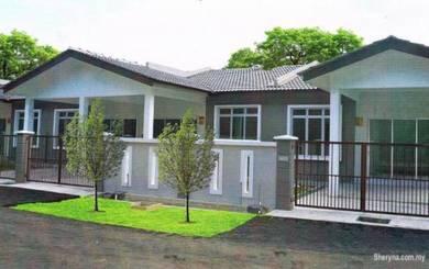1sty 22x60 4bedrooms OPEN for NON BUMI Zero Down near setia alam