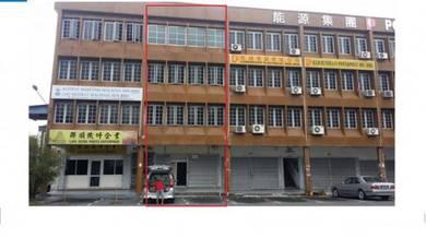 4 Storey Shop for Rent at Pending. Near SJK Chung Hua Pending