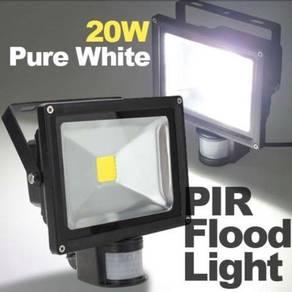 20W Outdoor Motion Sensor LED Flood Light Security