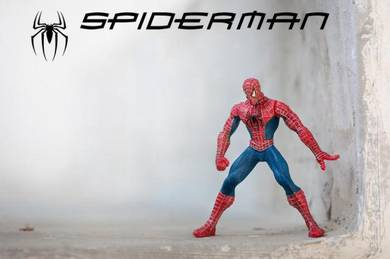 Spiderman the movie action figure