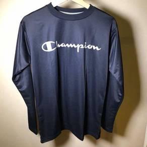 Champion Navy Blue Long Sleeve