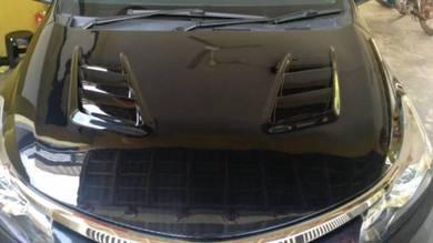 Toyota vios 13-18 carbon bonnet cf hood bodykit