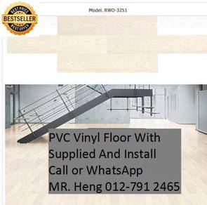 NEW Made Vinyl Floor with Install bilo875