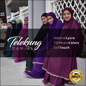 Telekung head lace by damias resources
