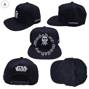 Star Wars Collection Men Women Unisex Snapback Cap