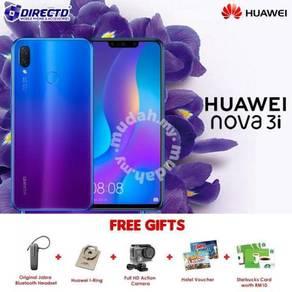HUAWEI nova 3i (4GB RAM)-MYset  PERCUMA 5 HADIAH
