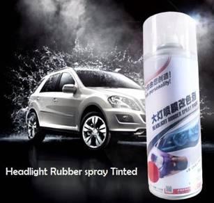Headlight/Tail Light Rubber Spray Film Tinted
