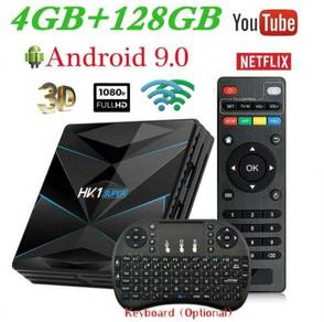 ULTRA Smart Android tv box 4k remote keyboard