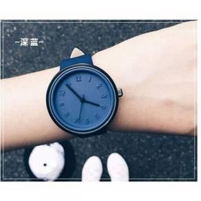 Korean Fashion Casual Simple Color Watch