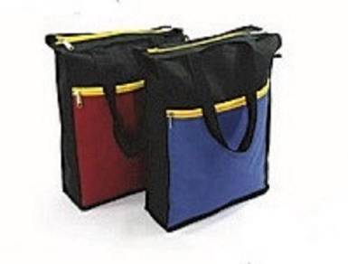 2 Zip Tuition Nylon BAG
