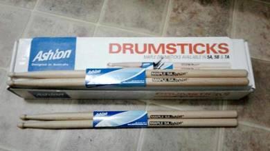 Ashton 5A Maple Wood Drumsticks