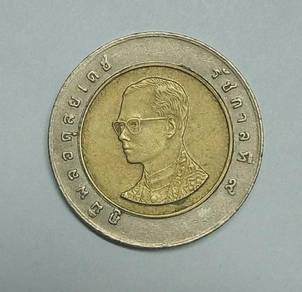 10 BaHT THAILAND COIN 1PCS - WC105