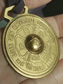 (B315) Vintage Asian Copper Medal/Pingat Tembaga