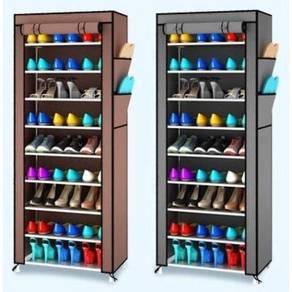 10 tier shoe rack / rak kasut A12