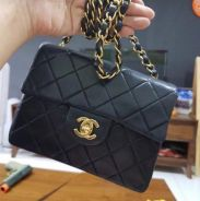 Authentic Vintage Chanel Mini Square