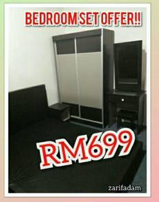 Full bedroom set new murah