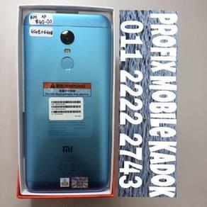 Redmi 5 plus biru kemas