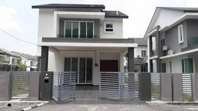 CORNER LOT GATED NEW Double Storey Bungalow in Taman Sinar Intan 3