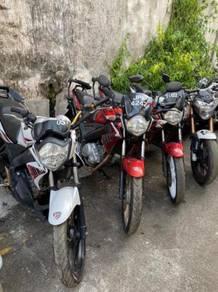 Yamaha fz 150 condition bagus lelong lelong lelong