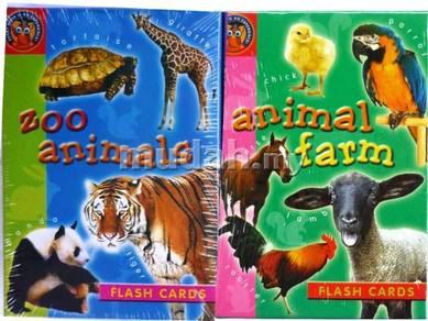 Flash Card series- Fun Way To Learn Animal - set