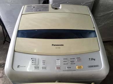 7kg Auto Washer Panasonic Top Load Mesin Basuh