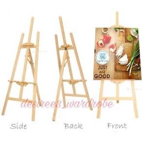 Pine wood easel stand A10