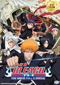 DVD ANIME Bleach The Movie 1-4 + 2 Special 死神