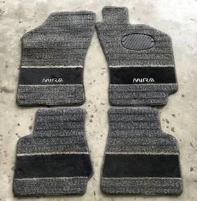 Carpet Kaki Floor Mat Mira L5 for Kancil Karpet