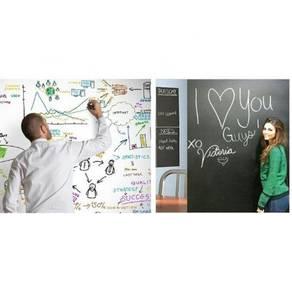 Whiteboard / Blackboard wall sticker 02