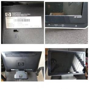 HP2009f LCD Color Monitor 20-inch