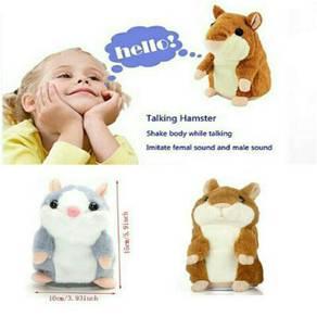 Lovely talking hamster with sound speaking kids