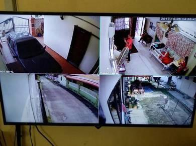Pemasangan CCTV sekitar Melaka (2.0mp)
