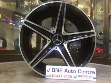 Amg wheels 18inc rim c-class gla-class e class