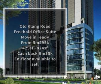 Old Klang Road Brand New Completed Office Suite for Sell