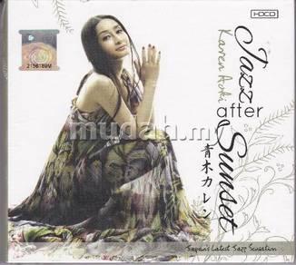 CD KAREN AOKI Jazz After Sunset Modern Japan Jazz