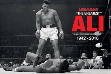 Muhammad Ali(Ali v Liston) poster