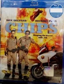 Blu-ray CHIPS Dax Shepard Michael Pena