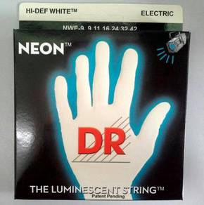 Dr.Neon Glow Electric Guitar String (White)