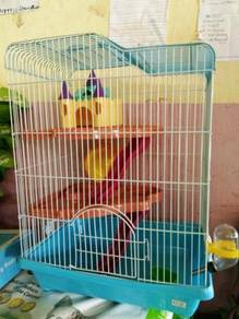 Kandang Hamster/Sugar Glider 3 Level