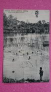 Antik Postcard SANDAKAN Bathing 1911 No 281 RARE