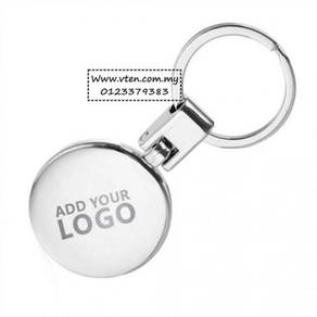 [PRE ORDER] Logo Metal Stainless Steel Keychain
