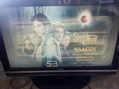Tv lcd sharp 32 aquos muroh2